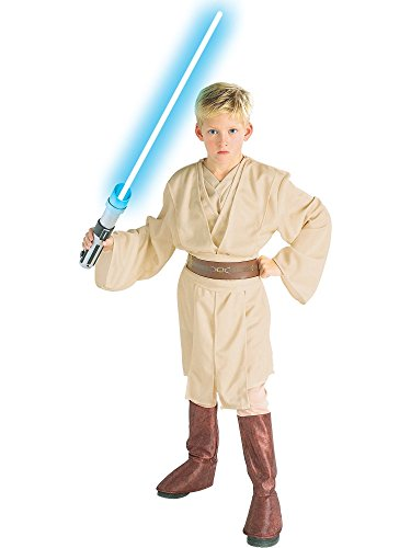Deluxe Obi Wan Kenobi Child Costume (Kid's Deluxe Obi Wan Kenobi Star Wars Costume)