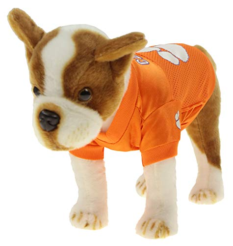 Sporty K9 Collegiate Clemson Tigers Football Dog Jersey, X-Small ()