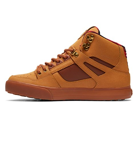 Spartan Deporte Dc dk Wheat De Hombre Wc Zapatillas Chocolate black High Para Shoes rrnqPY5