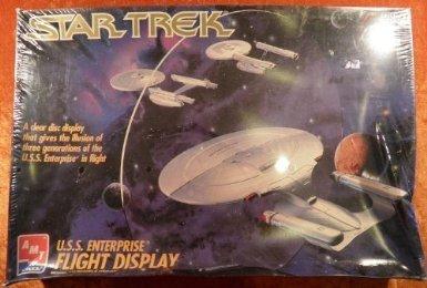 AMT Star Trek USS Enterprise Flight Display Model Kit