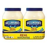 Hellmann's Real Mayonnaise, 36 oz (Pack of 2) by Hellmann's