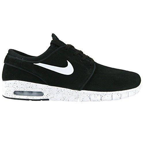 Nike Men's Stefan Janoski Max L Black/White Skate Shoe 14...