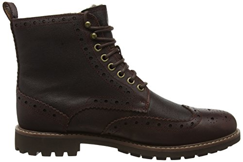 Warm Klassische Chestnut Leather Lined Braun Clarks Herren Lord Stiefel Montacute PRtqx0