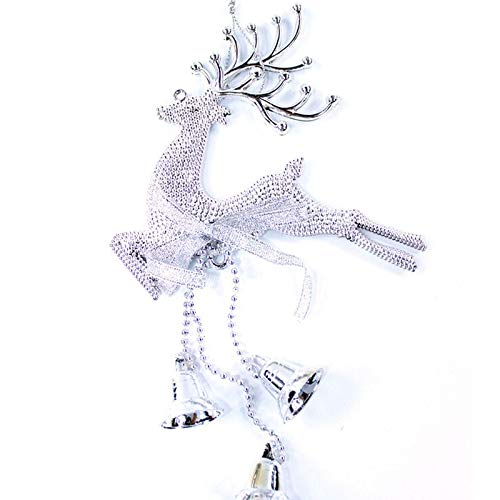 (Christmas Headbands - 2019 Deer Christmas Reindeer With Bell Home Tree Ornament Hanging Trumpetxmas Baubles Party - Kids Adults Headbands Girls Baby Women Christmas)