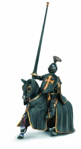 Schleich Black Knight on Horse