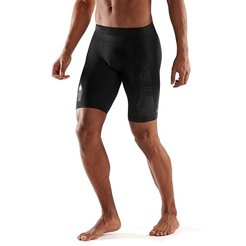 Skins Men's A400 Compression 3/4 Tights, Oblique, X-Small by Skins (Image #5)