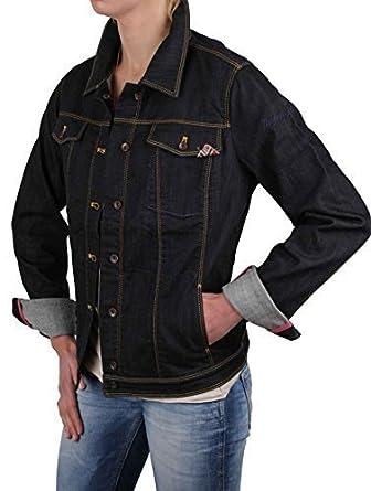 f80f0ac4ee Napapijri veste pour femme jeans veste en jean pour homme bleu foncé taille  xL #rIF028