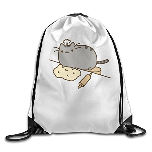 Price comparison product image Print Hiking Daypack Pusheen Eating Ramen Beam Mouth Backpack