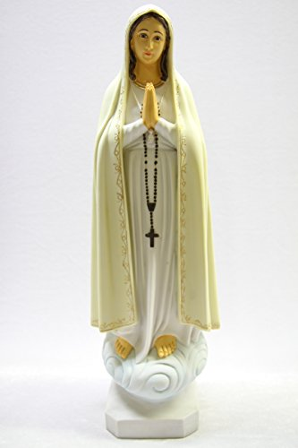 20'' Our Lady of Fatima Pilgrim Virgin Mary Catholic Statue Figure by Vittoria Collection Made in Italy by Vittoria Collection