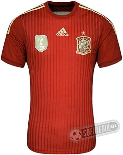 Adidas - ESPAÑA 1ª CAMISETA ADIZERO WC2014: Amazon.es: Deportes y aire libre
