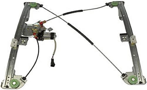 KABOCHO Window Regulator Front Driver Left Side Fit for Ford F150 Extended Cab 2004-2008