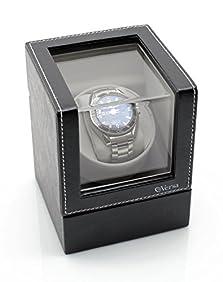 [ON SALE NOW] Versa Elite Single Watch Winder in Black Leather