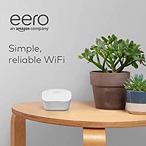 Introducing Amazon eero mesh WiFi system - router for whole-home coverage (3-pack)