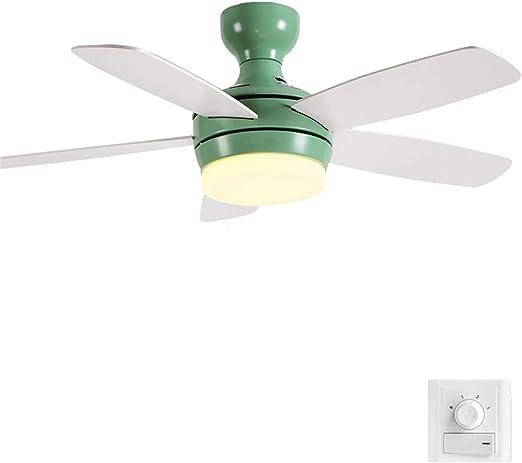 Luz de Ventilador LED de Techo Luz Suave y Natural Temperatura del ...