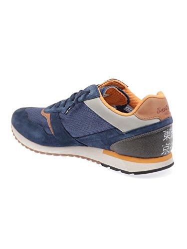 Lotto Herren T4576NAVY Blau Leder Sneakers