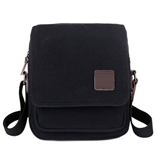 Canvas Shoulder Messenger Bag Ipad Scuri,4-OneSize