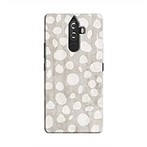 Cover It Up - Pebble Print Grey K8 Note Hard Case