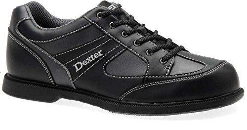 Dexter Pro Am II Bowling Shoes, Black/Grey Alloy, 9.5