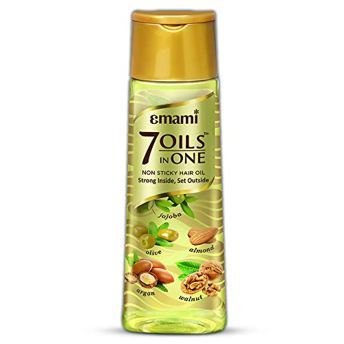 Emami 7 oils in one hair oil, non-sticky, strong inside and set outside- 300ml