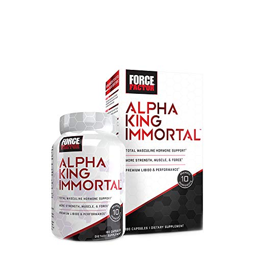 Force Factor Alpha King Immortal