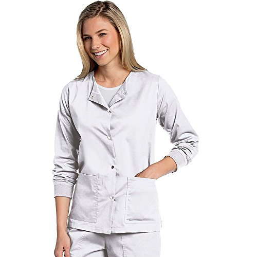 Snap Front Warm Up Scrub - 3