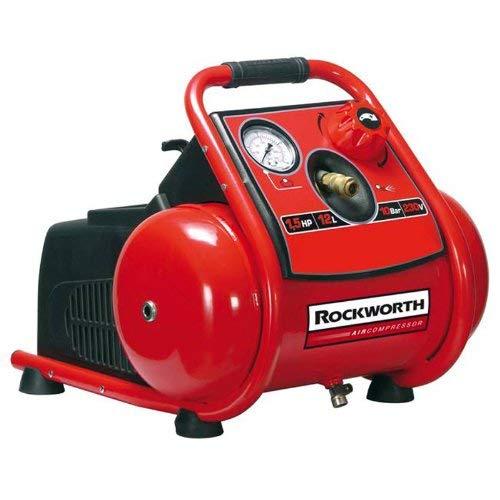 Factory Reconditioned Air Compressor - Rockworth RW1503TP 3-Gallon Factory Reconditioned Trim Finish Electric Air Compressor (Certified Refurbished)