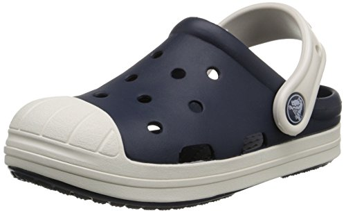 crocs Unisex-child Bump It Clog, Navy/Oyster, 3 M US Little Kid