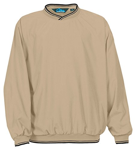 Tri Mountain All-Season Microfiber Windshirt 2560 - Long Sleeve Pullover Windshirt