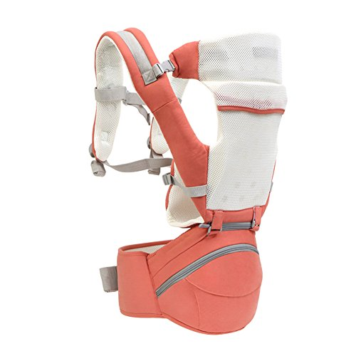 Baby carrier,Front-hold Multifunction Full seasons Baby carrier for infants and toddlers Breathable Baby carrier original Waist stool-E by LTSGSBB
