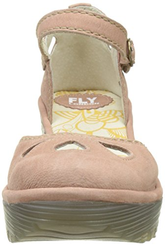 Pink London Pumps Toe Women's Closed Rose Yuna 124 Fly qYZxgRww