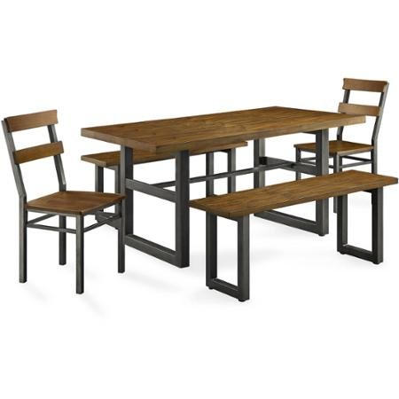 Stylish modern design better homes and gardens sturdy - Better homes and gardens mercer dining table ...
