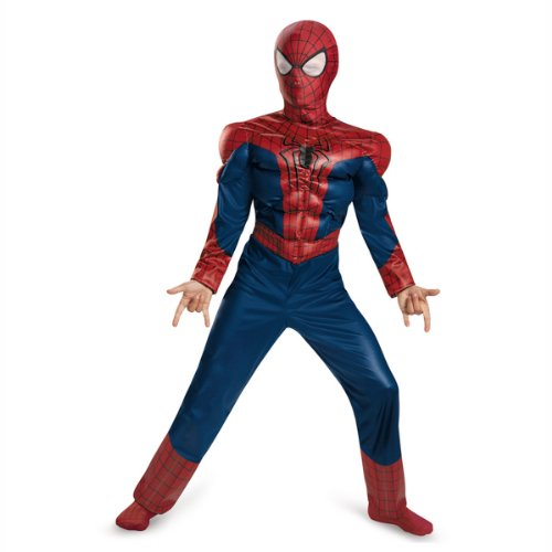 Amazing Spider-Man 2 Classic Muscle Kids Costume/size Large (Spiderman Amazing Costumes)