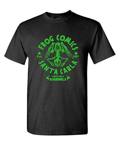 The Goozler Frog Comics 80s Retro Comedy Horror T-shirt, S to 3XL