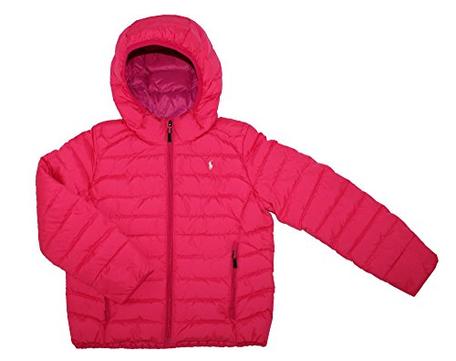 The North Face YOTH Girls Luna Reversible Down Jacket Passion Pink (XL 18) by The North Face