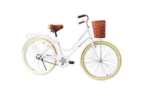 Black Panther Bicicleta Vintage Retro Clasica Rodada 24 Modelo Maja Equipada- Blan