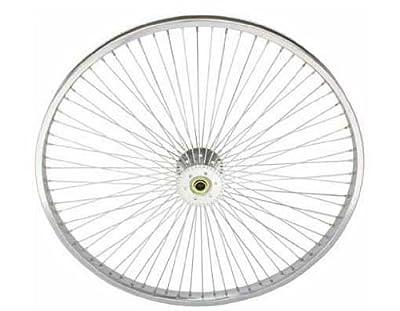 "26"" 72 Spoke Hollow-Hub Wheel 14G Chrome. tricycle wheel, trike wheel, Lowrider trike wheel, lowrider tricycle wheel, chopper, beach cuiser, stretch bike, bike part, bicycle part"