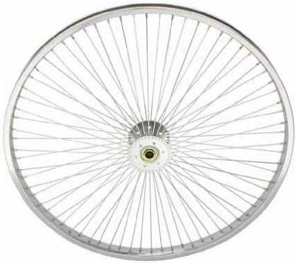"26/"" Wheel Front All Black Lowrider 144 Spoke Bicycle Beach Cruiser Chopper Bike"