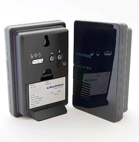 Grundig Sonnette LED sans FI avec port/ée DE 80/m
