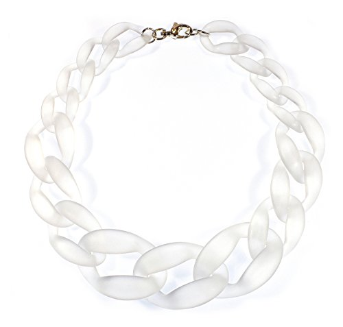 Plastic Chain Link Necklace -