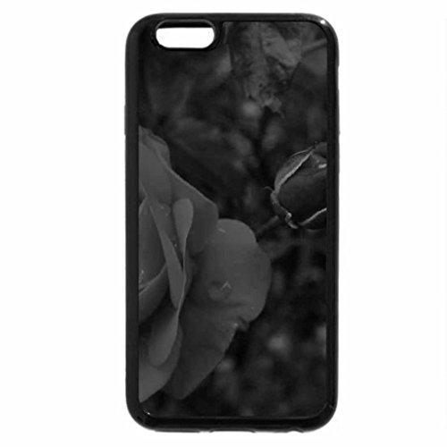 iPhone 6S Case, iPhone 6 Case (Black & White) - ROSE,