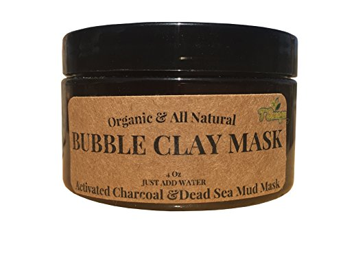 THE BEST 100% Natural BUBBLE CLAY MASK (Cruelty Free & Very Ingredients) - MADE IN USA- Deep Cleaning, Enriching, Exfoliating & Moisturizing- VISIBLE DIFFERENCE OR- ()