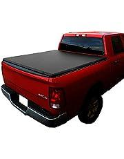 Black Series Auto Soft Tri-Fold Tonneau Cover 2004-2021 F150 5.5' Short Box