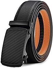 Cinturón Hombre,BULLIANT Cinturón Cuero Automática 35mm,Tamaño Ajustable,Regalo en Caja