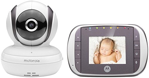 Motorola MBP35S- Digital Video Baby Monitor, White Motorola