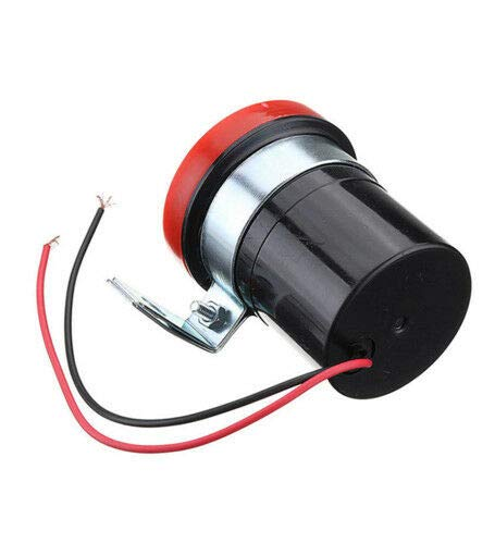 Boloromo 7983654 Red Reversing Buzzer Beeper Alarm 12v Warning Reverse Back Up Van Trailer Bus