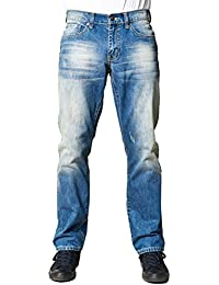 "<span class=""a-offscreen"">[Sponsored]</span>Fresh Groove Classic Men's Relaxed Fit Straight-Cut Jeans"