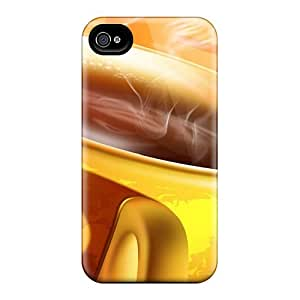 Durable Protection Case Cover For Iphone 5/5s(warm Coffee)