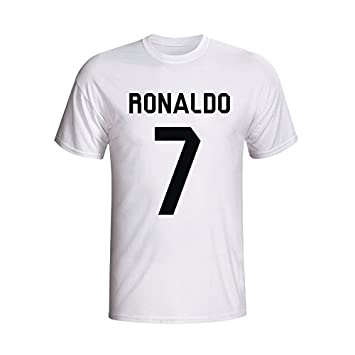 364465df6e60f Cristiano Ronaldo Real Madrid Hero T-shirt (white): Amazon.de: Sport ...
