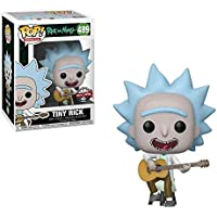 Funko pop Action Figure Animation R&M - Tiny Rick w/ Guitar (Exc)