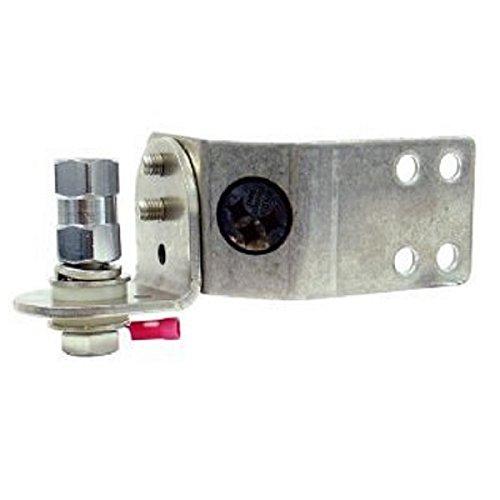 Adjustable Swivel Bracket (FireStik SS-204 Adjustable stainless steel vertical door jamb mount)